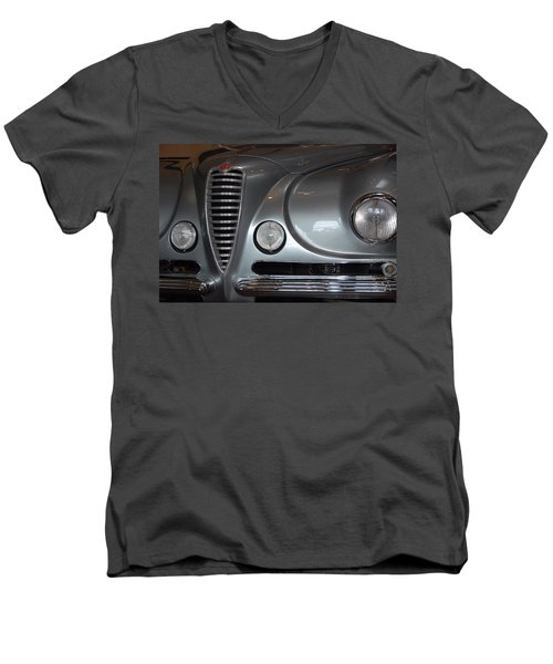 Men's V-Neck T-Shirt featuring the photograph Italian Style by John Schneider