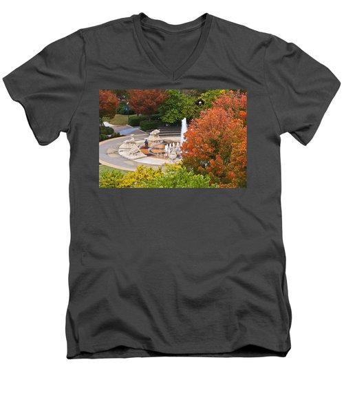 Keeping Dry Men's V-Neck T-Shirt