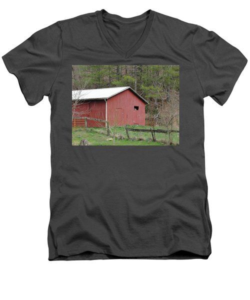 Men's V-Neck T-Shirt featuring the photograph Kentucky Life by Tiffany Erdman