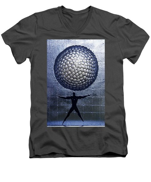 Kosta Universal Man Men's V-Neck T-Shirt