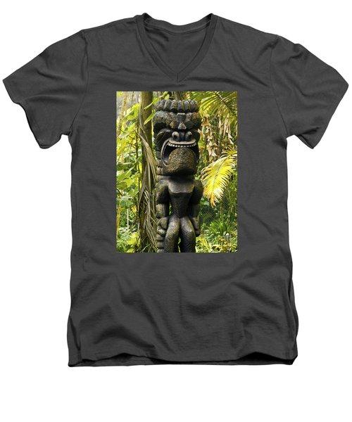 Ku - God Of War Men's V-Neck T-Shirt