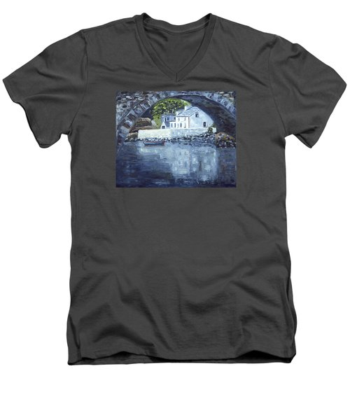 Lackagh Bridge Men's V-Neck T-Shirt