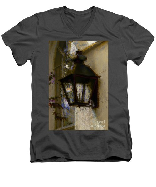 Lantern 11 Men's V-Neck T-Shirt
