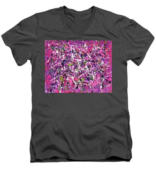 Lavender Fields Forever Men's V-Neck T-Shirt