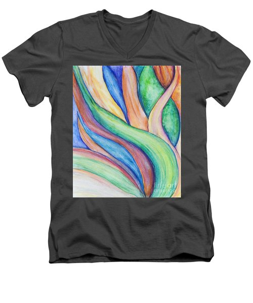 Leaves Men's V-Neck T-Shirt
