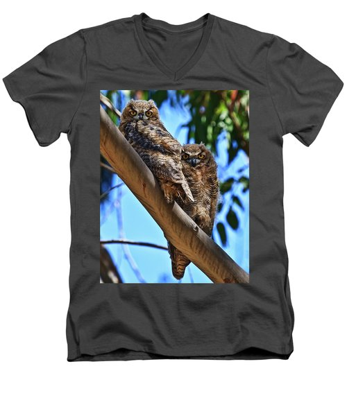 Lifes A Hoot Men's V-Neck T-Shirt
