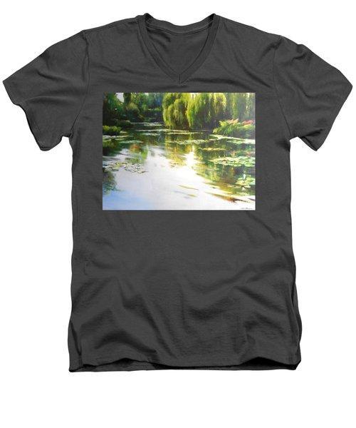 Lilly Lake Men's V-Neck T-Shirt