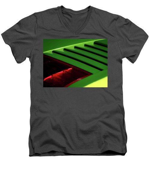 Lime Light Men's V-Neck T-Shirt