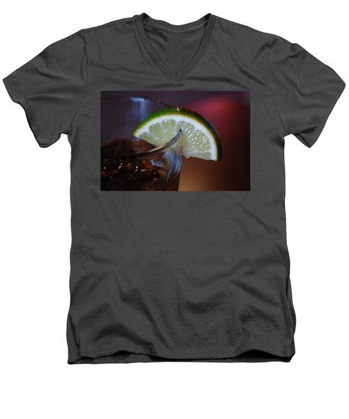 Lime Time Men's V-Neck T-Shirt
