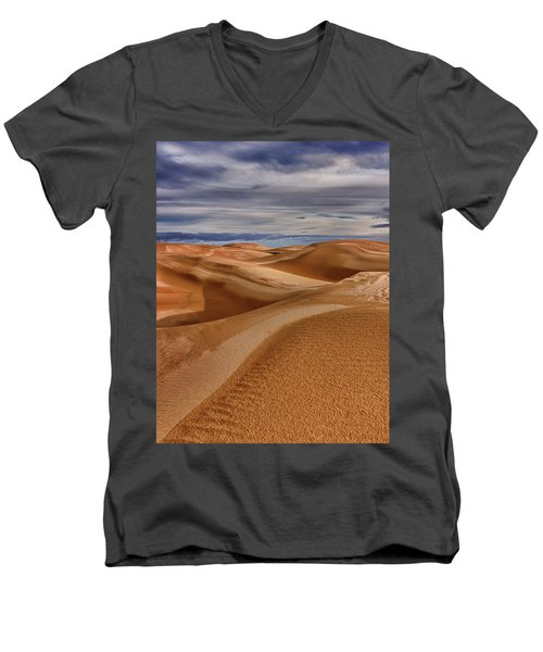 Lines To Infinity Men's V-Neck T-Shirt