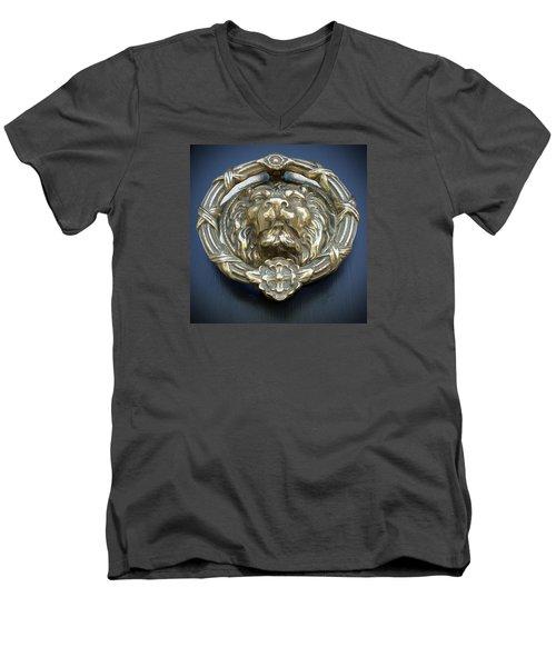Lions Gate Men's V-Neck T-Shirt