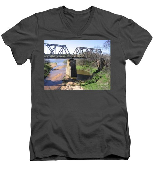 Little Llano Creek Men's V-Neck T-Shirt