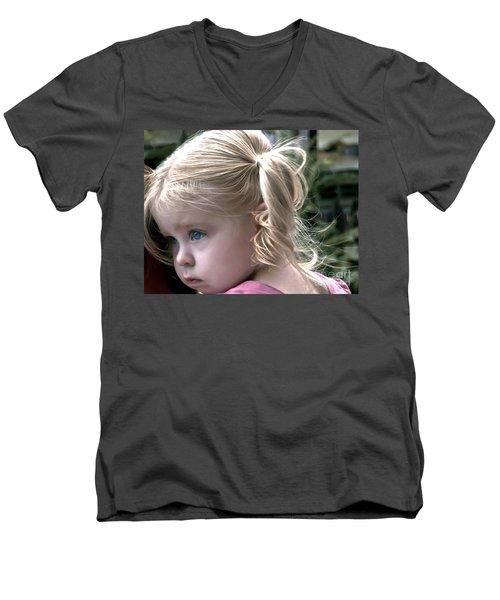 Little Posy Men's V-Neck T-Shirt
