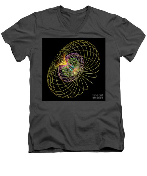 Magnetism 2 Men's V-Neck T-Shirt