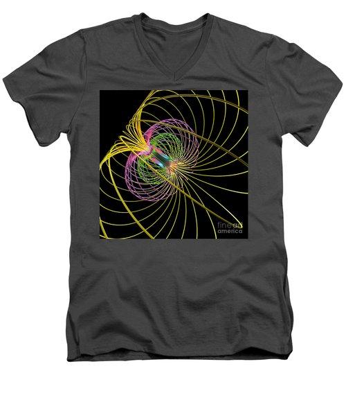 Magnetism 3 Men's V-Neck T-Shirt
