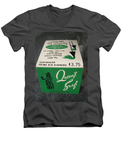 Men's V-Neck T-Shirt featuring the photograph Matchbooks For Hawaii Two by John King