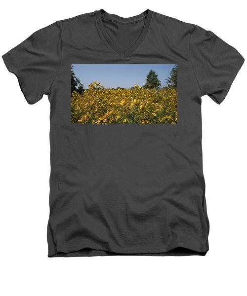 Meadow At Terapin Park Men's V-Neck T-Shirt