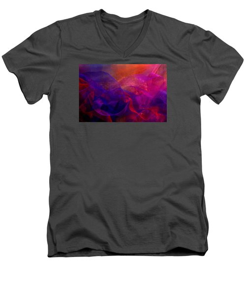 Men's V-Neck T-Shirt featuring the photograph Memories by Nareeta Martin