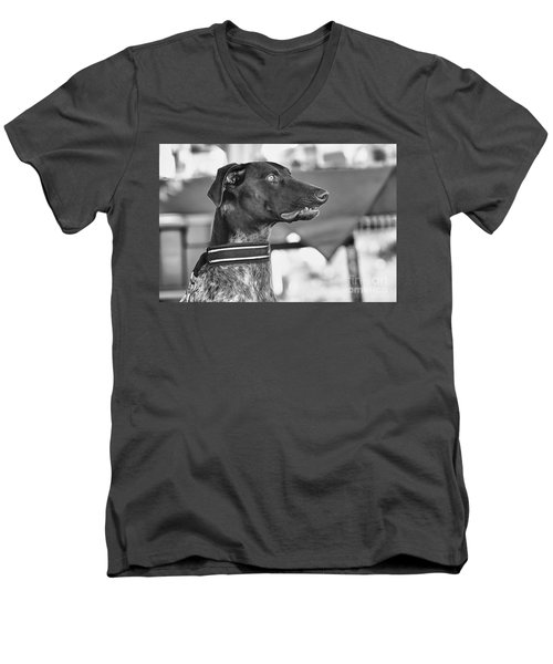 Men's V-Neck T-Shirt featuring the photograph Mesmerized by Eunice Gibb
