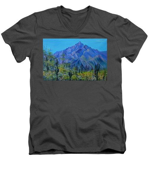 Mexico. Countryside Men's V-Neck T-Shirt