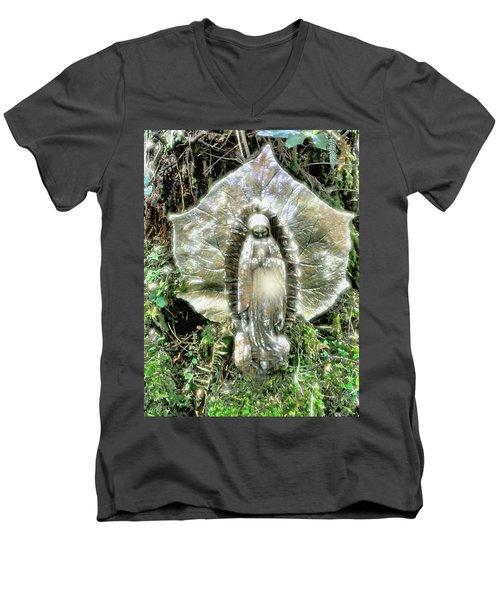 Miracle In My Garden Men's V-Neck T-Shirt