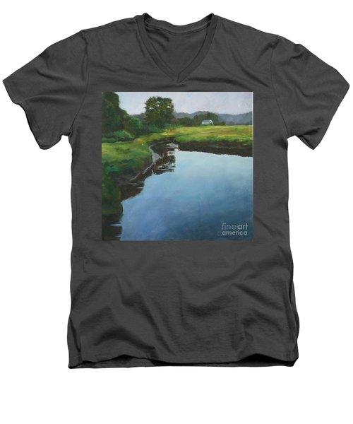 Mirror Creek In Essex Men's V-Neck T-Shirt