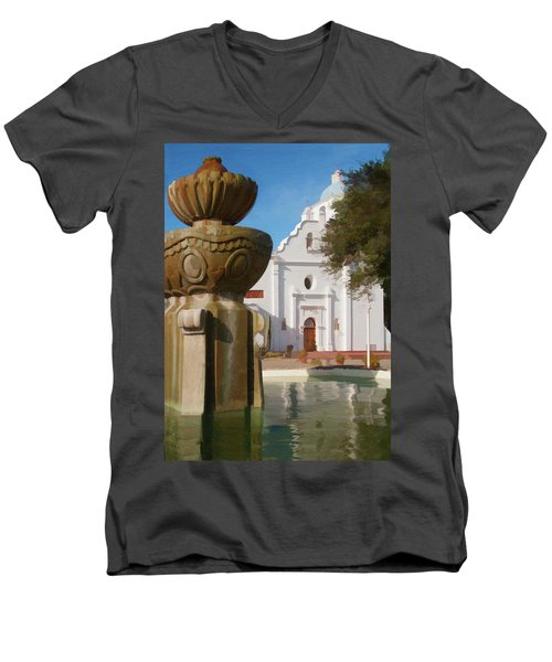 Mission Santa Cruz Men's V-Neck T-Shirt