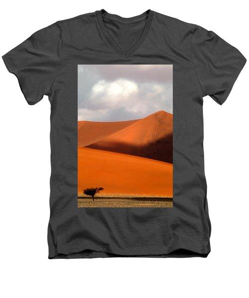 Moody Tree Upright Men's V-Neck T-Shirt
