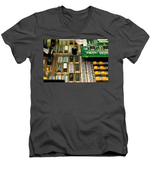 Motherboard Men's V-Neck T-Shirt