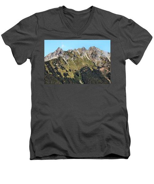 Mount Baker National Forest Men's V-Neck T-Shirt