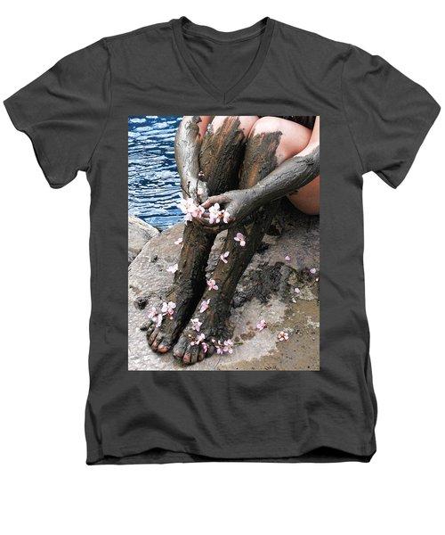 Mud Socks Men's V-Neck T-Shirt