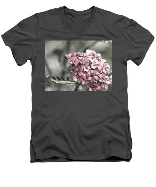 Mystic Yarrow Men's V-Neck T-Shirt