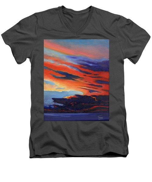 Natural Light Men's V-Neck T-Shirt