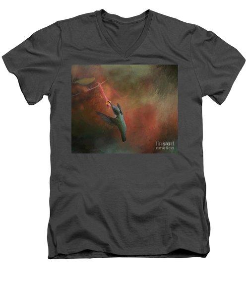 Nature's Angel Men's V-Neck T-Shirt