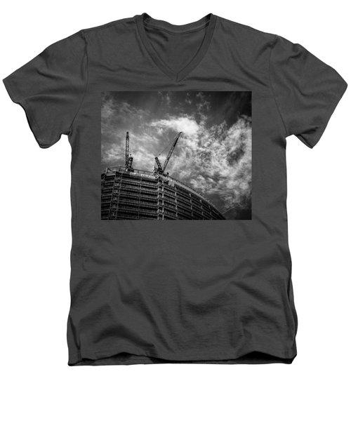 New Buildings Men's V-Neck T-Shirt