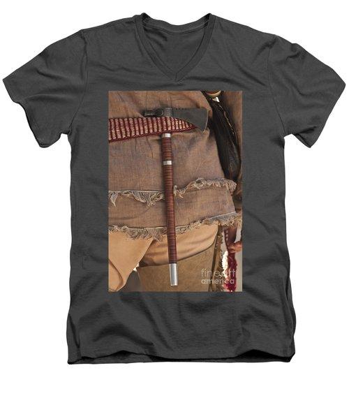 Nice Ax Men's V-Neck T-Shirt