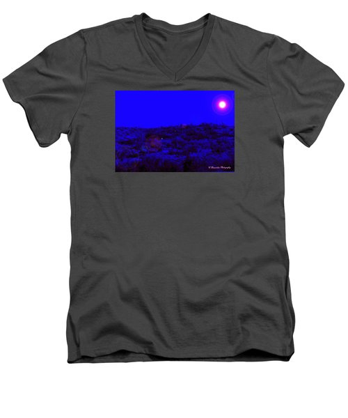 Night Or Day Men's V-Neck T-Shirt