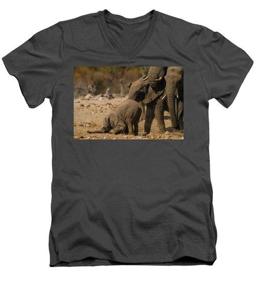 Nose Bump Men's V-Neck T-Shirt