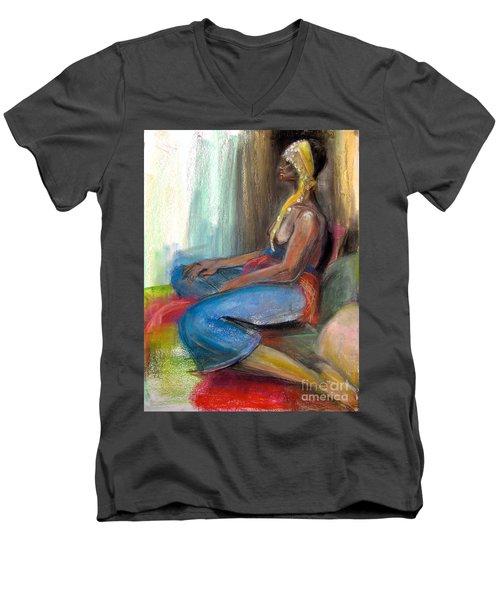 Royal Men's V-Neck T-Shirt