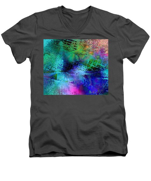 Men's V-Neck T-Shirt featuring the photograph Of The End by David Pantuso