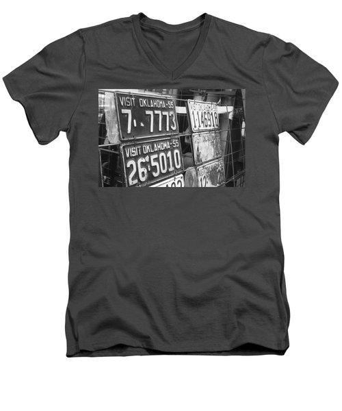 Oklahoma 1955 Men's V-Neck T-Shirt