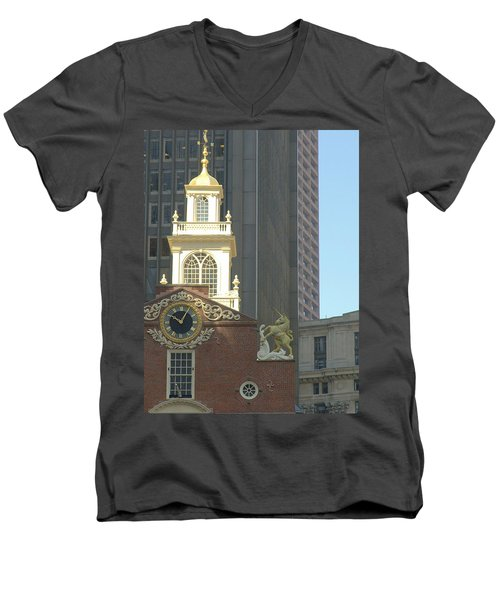 Old South Meeting House Men's V-Neck T-Shirt