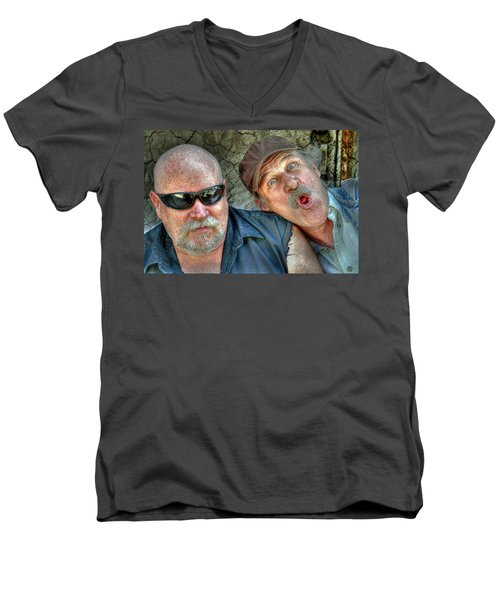 On A Napanee Stoop One Day Men's V-Neck T-Shirt
