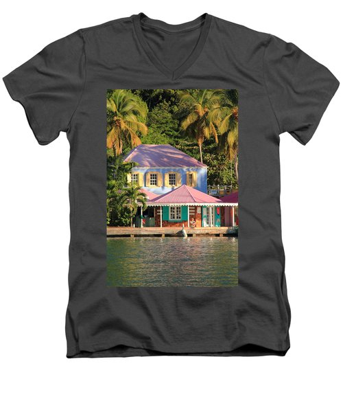 On The Dock Men's V-Neck T-Shirt