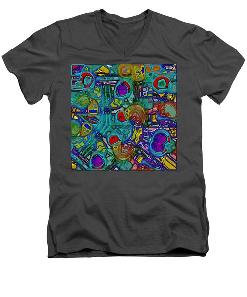 Organized Chaos Men's V-Neck T-Shirt
