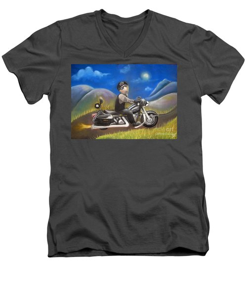 Out On The Road Men's V-Neck T-Shirt