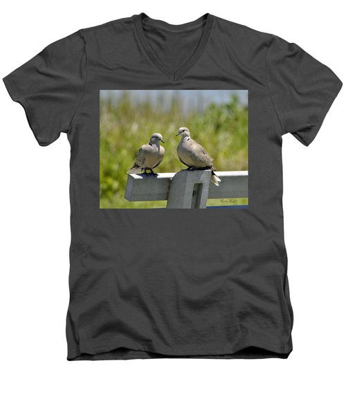 Palomas Men's V-Neck T-Shirt