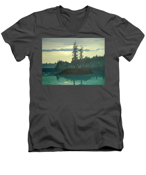 Peace And Quiet Men's V-Neck T-Shirt