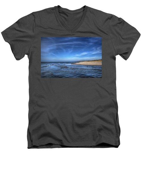 Peaceful Times Men's V-Neck T-Shirt