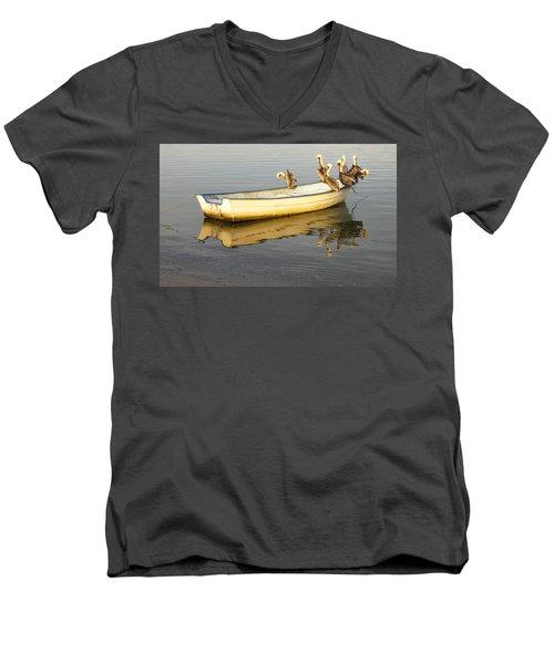 Pelican Express Men's V-Neck T-Shirt